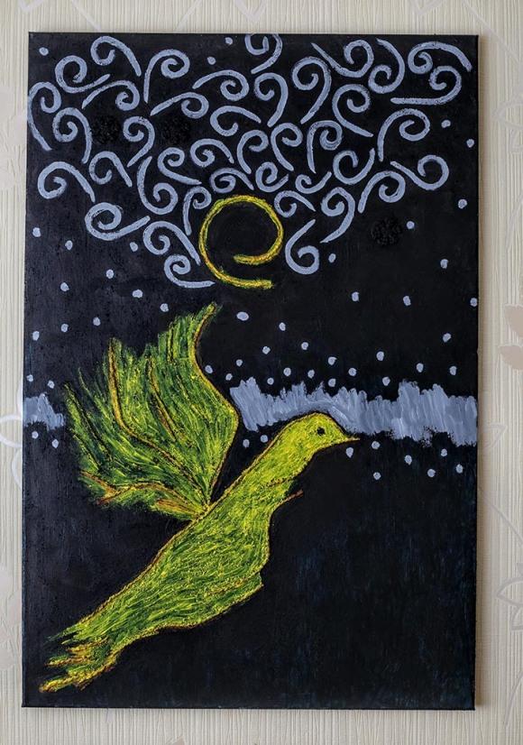 Yellow bird. Tauno Erik