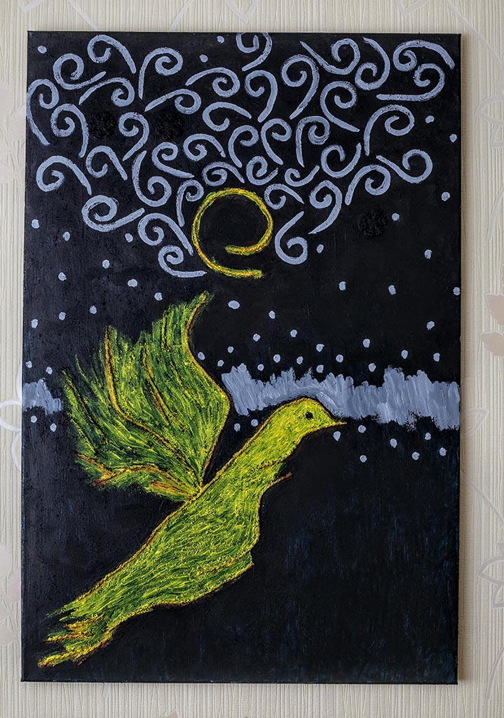 Yellow bird. Tauno Erik