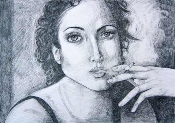 Smoking. Tauno Erik