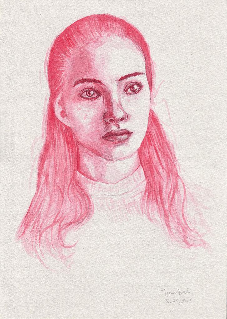 Punane tüdruk. Tauno Erik