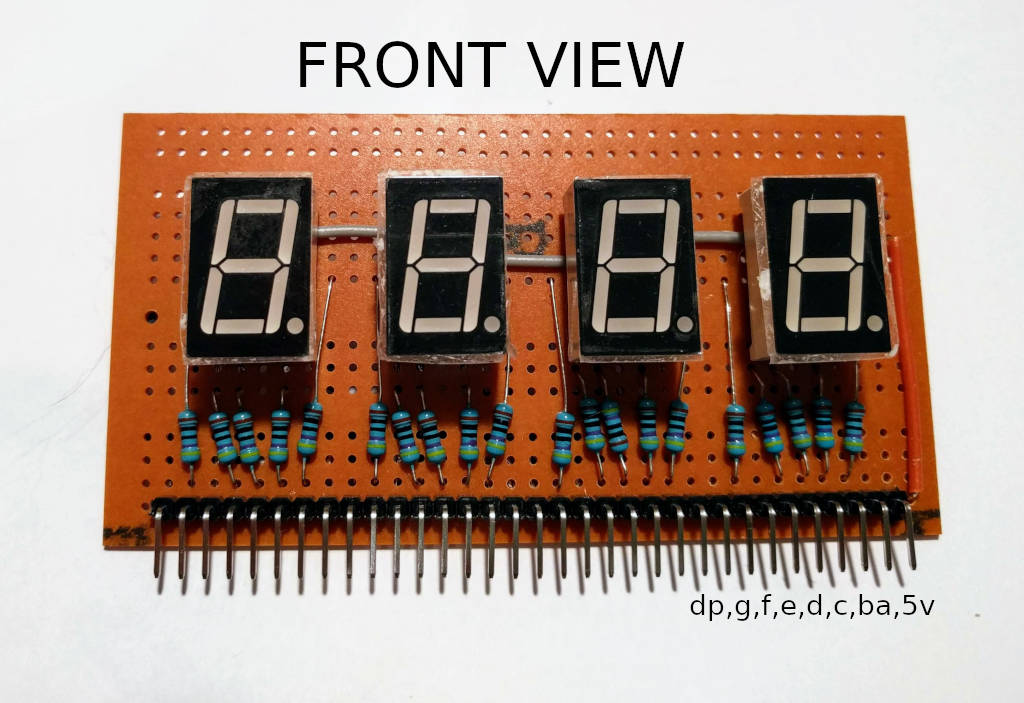 LED module front view