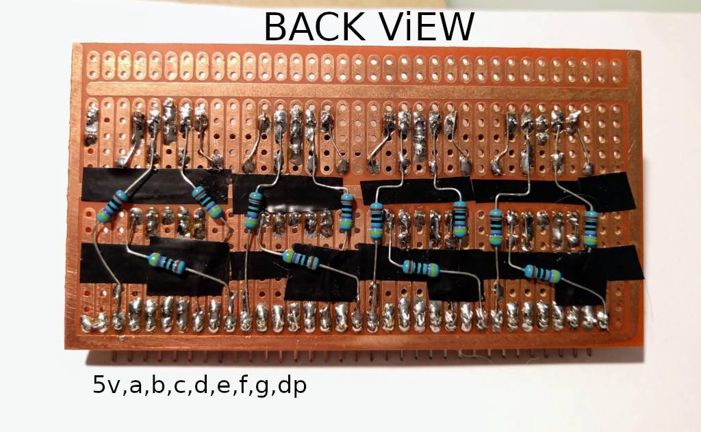 LED module back view