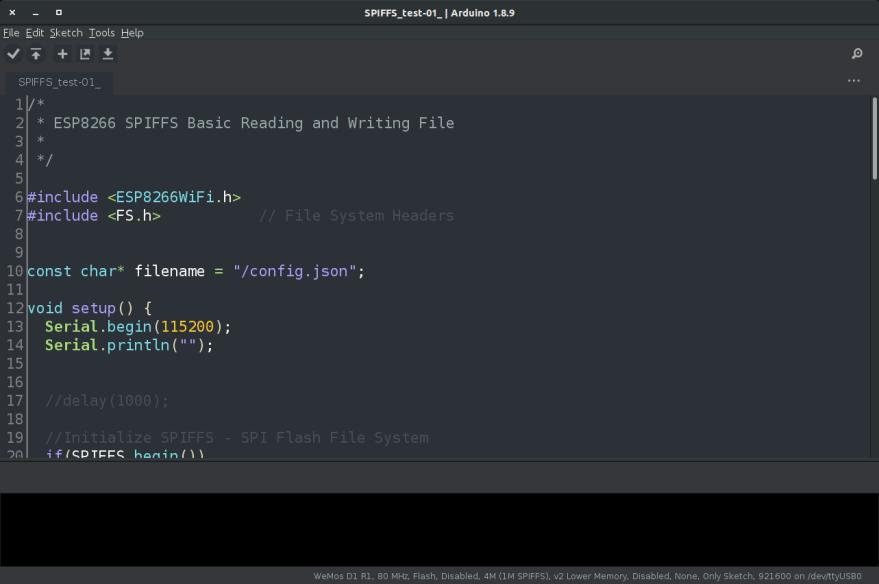 Arduino Dark Theme on Ubuntu 18.04