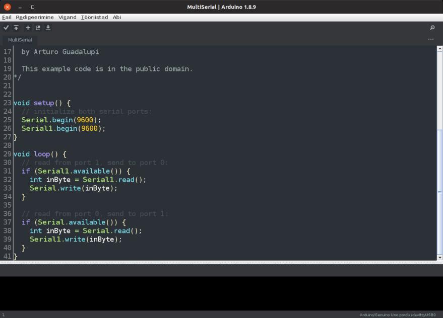 Arduino Dark Theme on Ubuntu 18.10