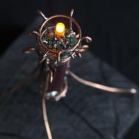 Joule thief candle