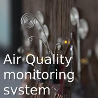 My home environment and air quality monitoring system